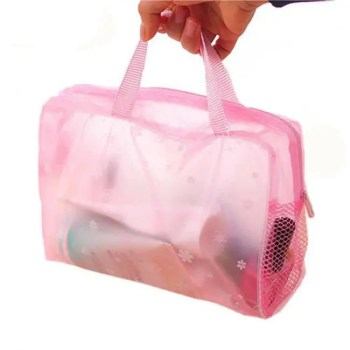 FREE SHIPPING Women's Waterproof Transparent Cosmetic Bag [tag]