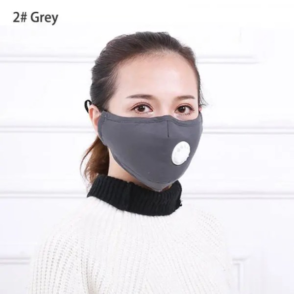 Travel Anti Pollution Mask Dust Respirator Washable Reusable Masks Cotton Unisex Mouth Muffle for Allergy/Asthma/Travel/ Cycling allergy