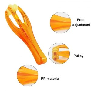 FREE SHIPPING Finger Blood Circulation Joint Hand Handheld Massager Rollers Tool SN-Hot Body
