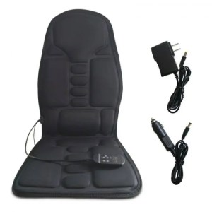 Accessories Electric Portable Heating Vibrating Back Massager Cushion for Car Home Office EPM3 back