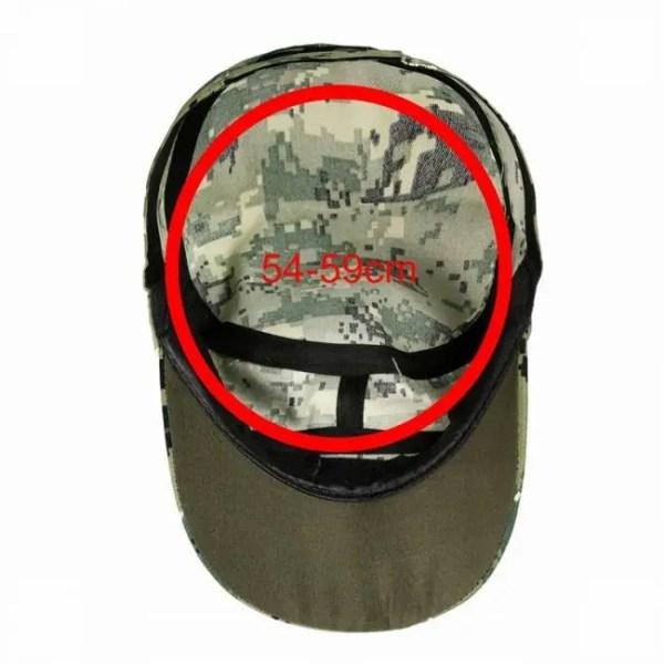 FREE SHIPPING Camouflage Hunting Tactical Military Baseball Hat Outdoor Fishing Camping Baseball