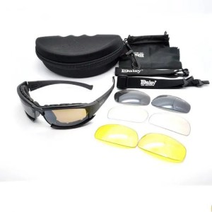 FREE SHIPPING Military Goggles Sunglasses With 4 Lens Original Box Men Shooting Eyewear 4