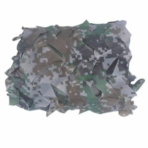 FREE SHIPPING Woodland Blue Green Desert Camouflage Camo Netting Without Edge Binding Sun Shelter 15m6m