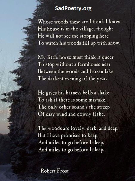 English Poetry Sad Full