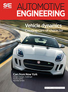 SAE Automotive Engineering: May 6, 2014