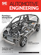 Automotive Engineering:  March 4, 2014