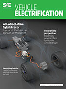 SAE Vehicle Electrification:  May 13, 2014