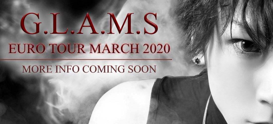 Tour announcement: G.L.A.M.S.