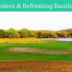 Resplendent & Refreshing Ranthambhore