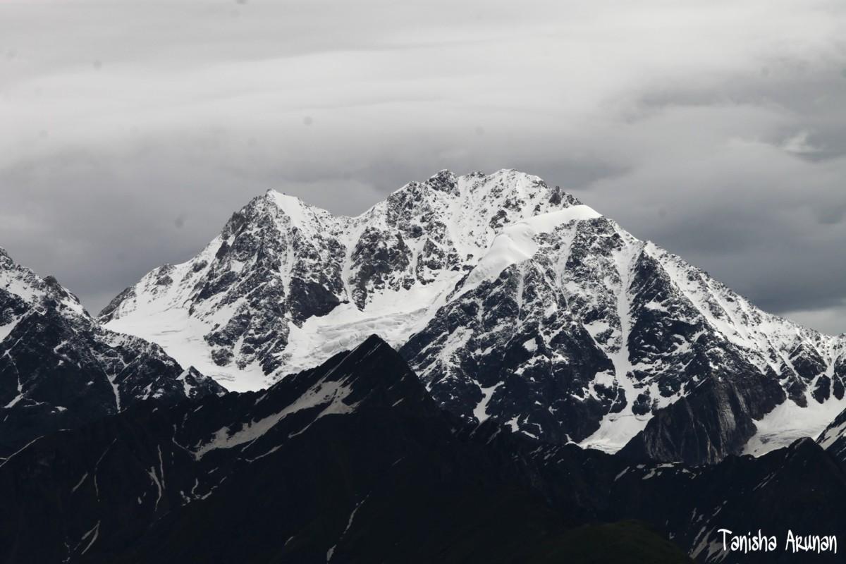View from Panchganga(3679 m)