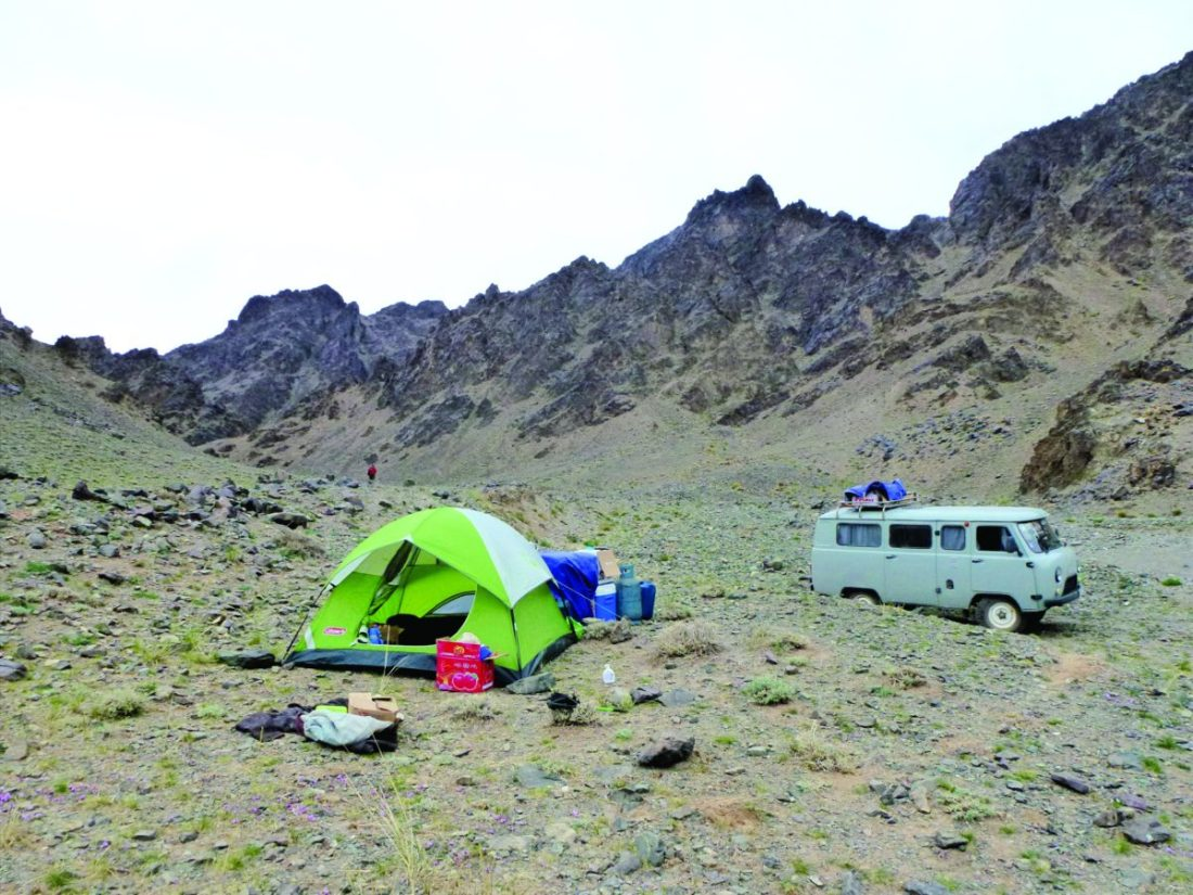 Extreme temperatures, rugged terrain and strong winds were the real test of our camping and commuting gear- Snow Leopard