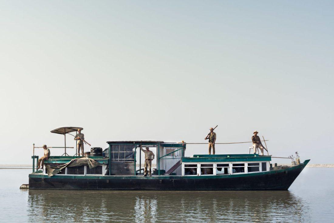 Ranger on a boat | Credit: Project 'Ranger Ranger'