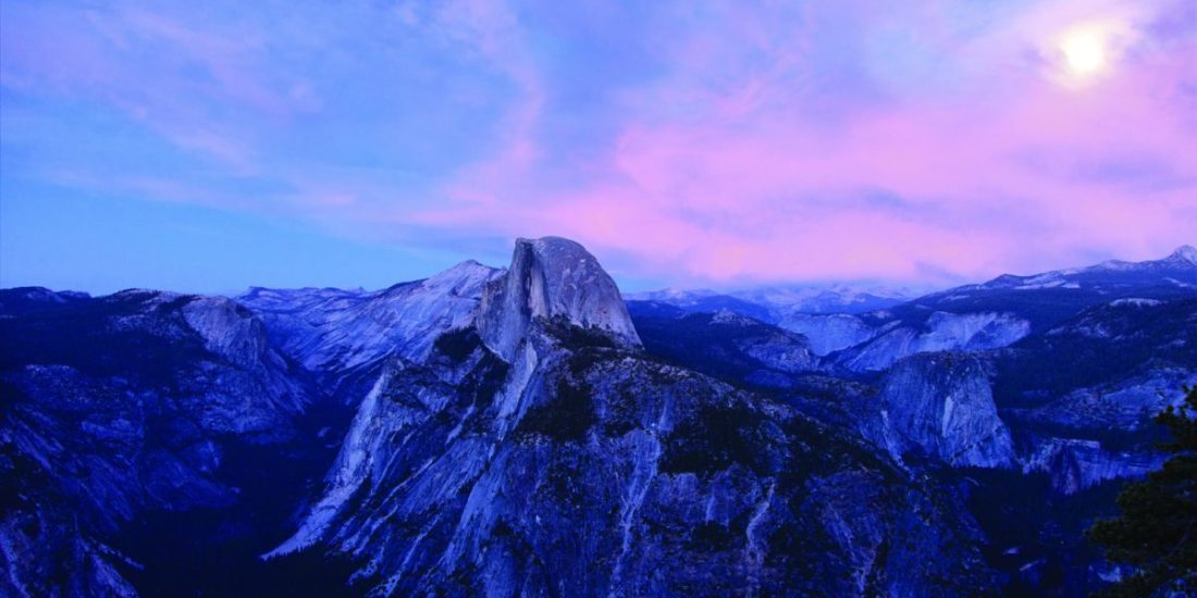 Cliffside View at Yosemite