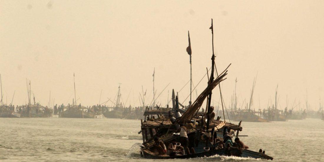 Ganges boy on the Gangetic spree