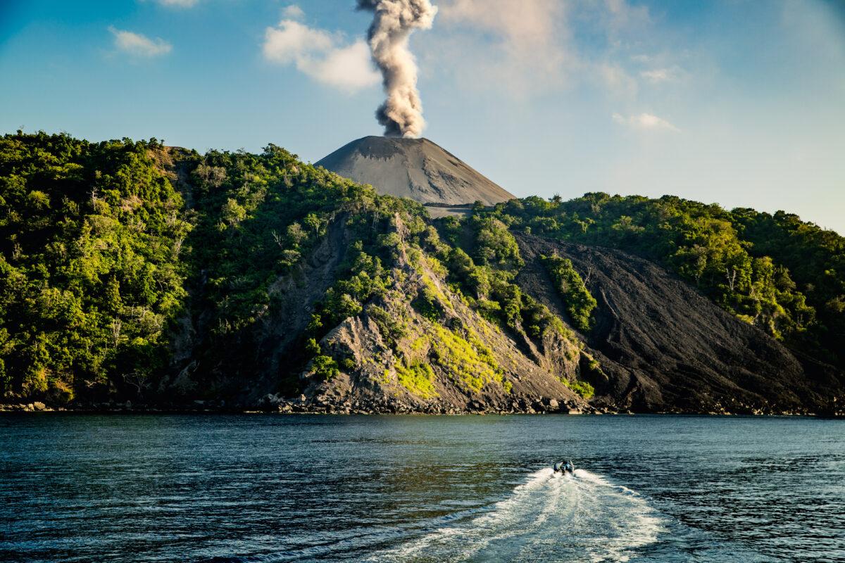 Magic in the Andamans: Barren Island