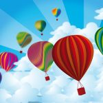 A hot-air balloon safari is best during the beautiful morning light