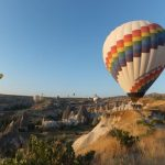 A hot air balloon flight is subject to weather