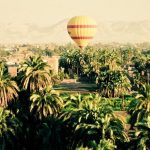 Anyone who is fit enough to hop in and out of the basket can go on hot-air balloon safaris