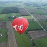 A balloon safari begins just before dawn