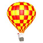 Children who go on a hot air balloon safari must have a minimum height of 1.1 m and must be accompanied by a consenting adult but infants are not permitted
