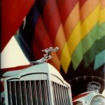 Hot-air balloons are made up of three components: basket, burners, an envelope