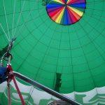 A hot-air balloon safari is best done at sunrise