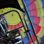 A hot air balloon safari is best done at sunrise and when the weather is calmest