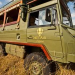 Game drives are conducted by experienced game trackers and rangers
