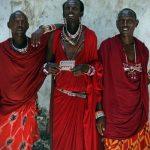 Masais' Black God is called Engai Narok