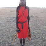 Maasai tribe live in enclosures Enkang that are protected by fences or bushes with sharp thorns