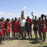 There are about 900.000 Maasais in Kenya according to the 2009 census