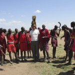 According to the 2009 census there are about 900.000 Maasais in Kenya