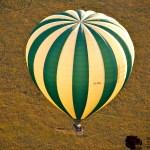 A balloon flies between 15 to 25 kilometres