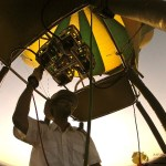 Hot-air balloons normally do not have a weight limit