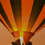 A hot-air balloon ride typically lasts 1 hour