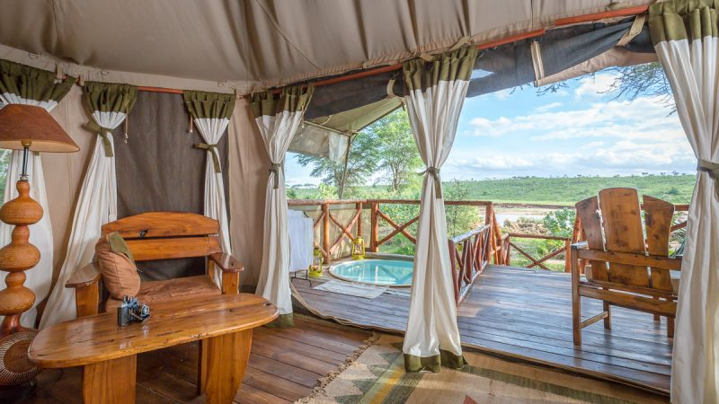 Elephant Bedroom Camp Samburu Offers Luxury In A Beautiful