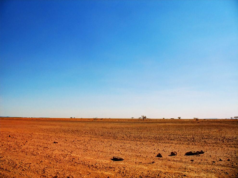 Chalbi Desert _terrain