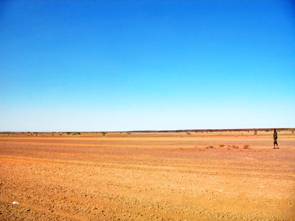 Chalbi Desert_barren terrain
