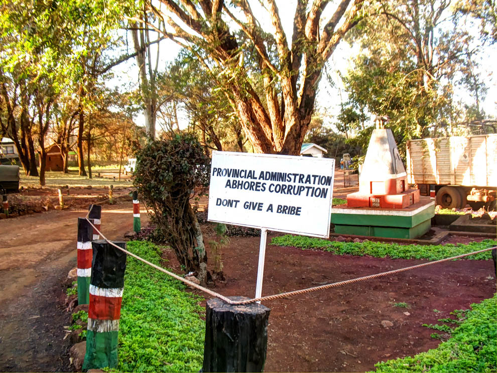 Marsabit Town_Sign at county offices2