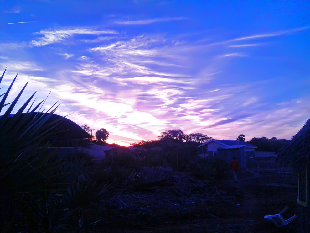 North Horr_purple sunrise