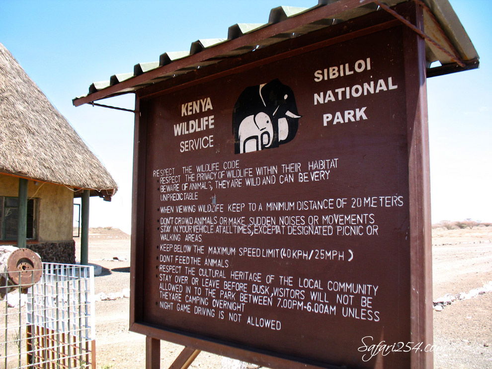 Sibiloi National Park_Karsa Gate_sign board