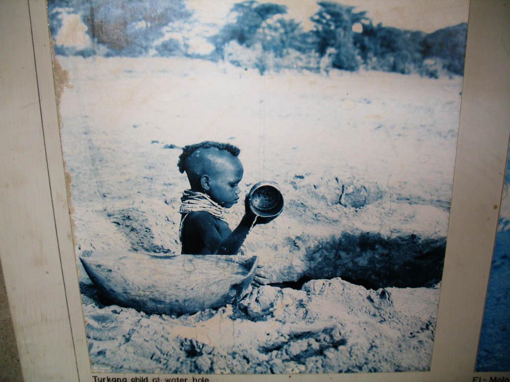 Koobi Fora Museum_Child fetching water