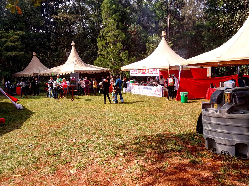 Koroga Festival_Tents