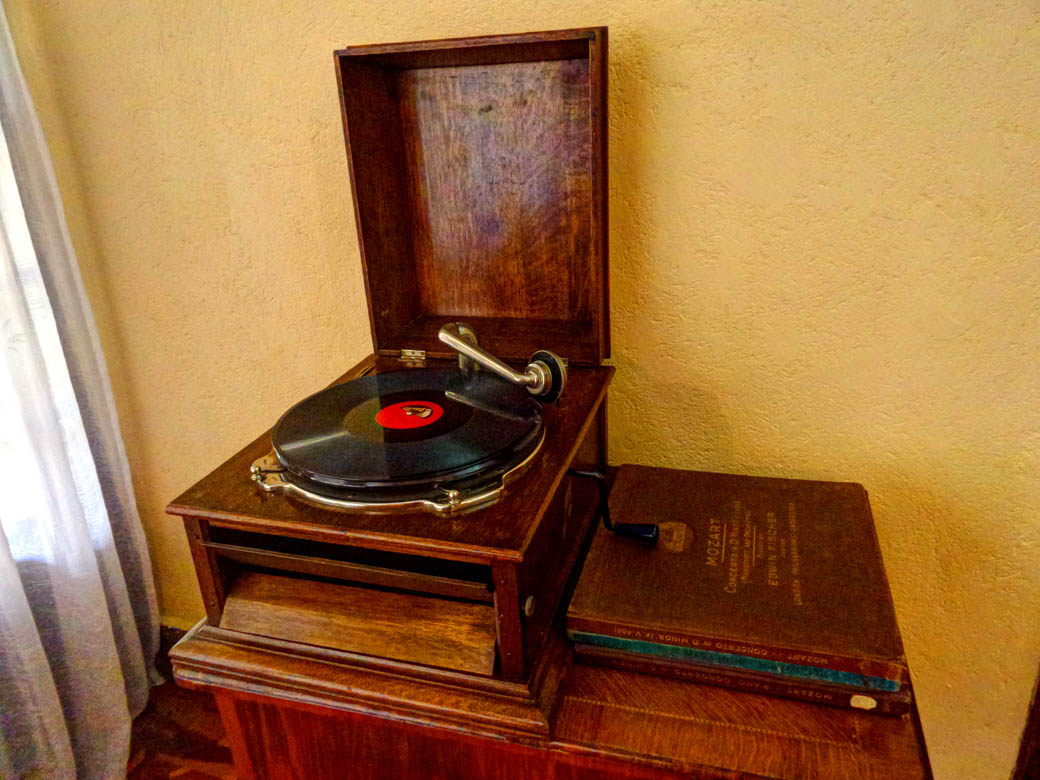 Karen Blixen Museum_Record player