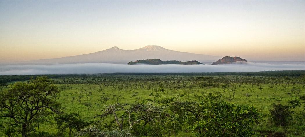 Chyulu Hills_Mt Kilimanjaro view
