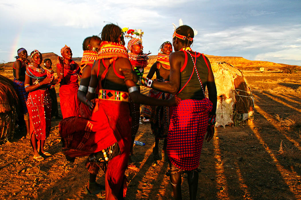 Nothern Kenya People and Places_Dassanaach dance