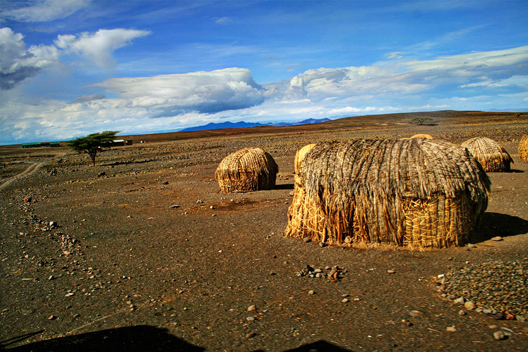 Nothern Kenya People and Places_El Molo Huts2