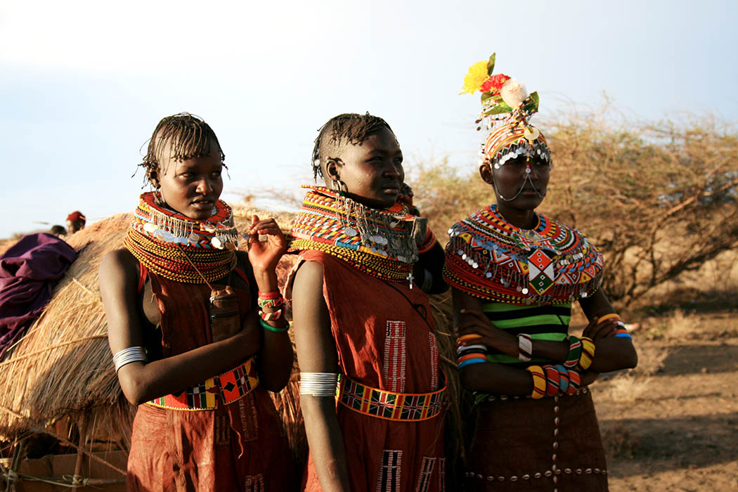 Nothern Kenya People and Places_Turkana Girls