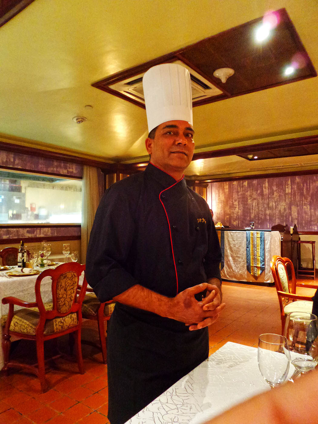Bhandini Restaurant review_Chef Jitendra2