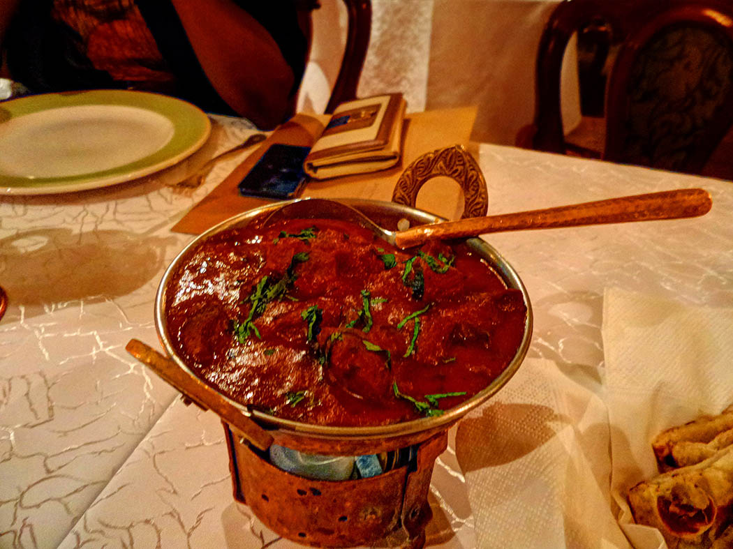 Bhandini Restaurant review_lamb curry